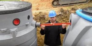 raccordement micro station avec fosse septique
