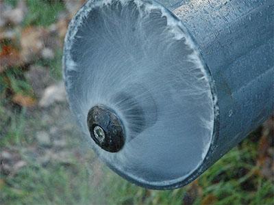 déboucher les égouts avec un hydrojet