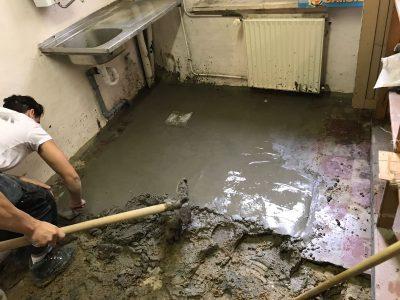 après travaux de canalisation