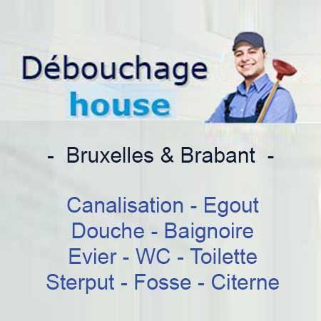 débouchage canalisation WC Woluwe Saint Pierre  chez vous en 1h, 🥇🥇 Débouchage Bruxelles
